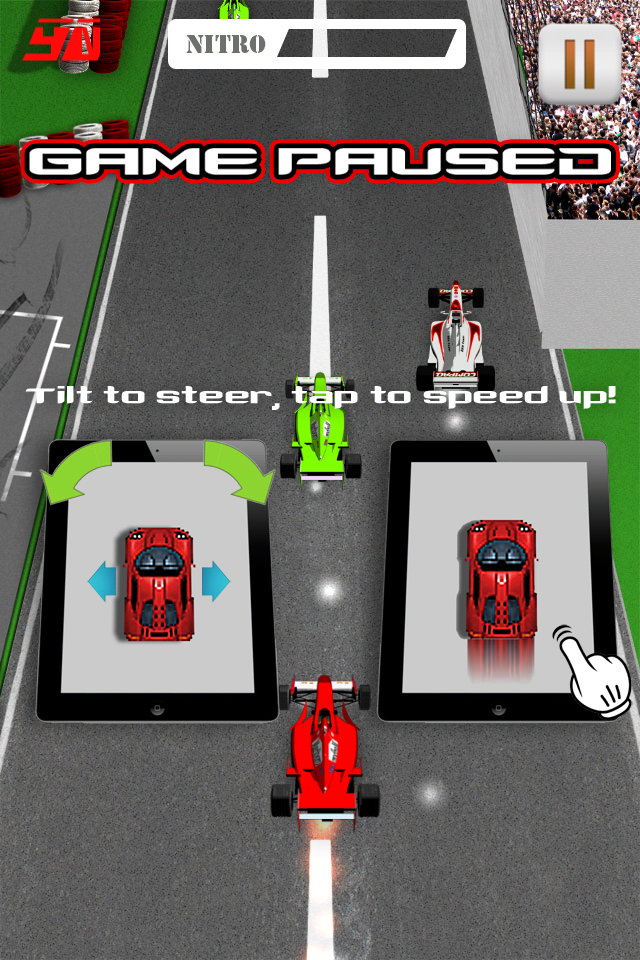 Screenshot Nitro F1 Race – Top Speed Edition